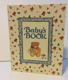 Lucy Riggs Bear Collection, Baby Album. This is a great Keepsake memory album for your child. Gender neutral and could easily be for a girl or boy. Book is new, I only have the top half of the original box.   eBay!