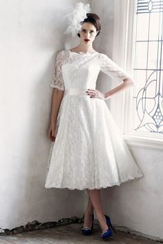 Plus size wedding dresses with sleeves tea length, the dress is carried on bride's big day. Tea length sleeves are mid length or ¾ length sleeves which...