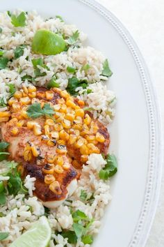 Dinner for Two: Charred Corn Tilapia