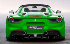 2.9s, 203MPH 2016 Ferrari 488 Spider To Be Fastest Open Ferrari of All Time