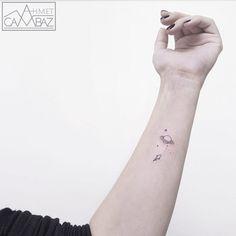 Tagged with mildly interesting, tattoos, neat; A dump of simple yet neat tattoos Mini Tattoos, Small Rib Tattoos, Cute Tiny Tattoos, Beautiful Tattoos, Body Art Tattoos, Tattoos For Guys, Tattoos For Women, Tatoos, Saturn Tattoo
