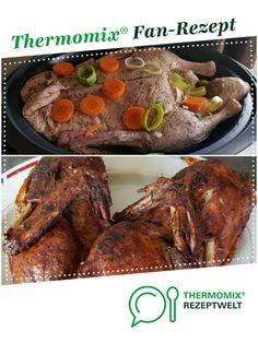 Variation Ente 2,5 kg aus dem Varoma von happyfinchen. Ein Thermomix ® Rezept aus der Kategorie Hauptgerichte mit Fleisch auf www.rezeptwelt.de, der Thermomix ® Community.