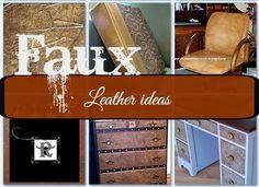 Ways to Fake Leather