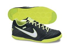 cbe44e0ef15 Nike5 Gato Leather in Black White Volt on Sale Adidas Indoor Soccer Shoes