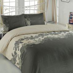 Obliečky Mixscarlet Beige s plachtou, 200x220 cm