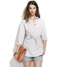 This is a super comfy chambray tunic, love how it looks and feels.