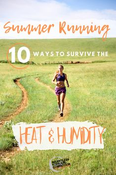 Summer running can be a humbling experience. Running and training in heat and humidity can range from slightly uncomfortable to feeling downright impossible.  Why does this happen? And what can we do to make it more bearable?  Here are 10 summer running survival tips from a certified exercise physiologist and running coach. Ultra Marathon Training, Endurance Training, Triathlon Training, Training Plan, Running Training, Running Workouts, Running Tips, Trail Running, Ironman Triathlon