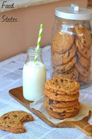Ευκολα μπισκοτα με κομματακια σοκολατας - Food States Sweets, Cookies, Breakfast, Blog, Recipes, Oreos, Bakken, Crack Crackers, Morning Coffee