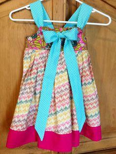 LoraCaye Knot Dress Knot Dress, Zipper Bags, Cosmetic Bag, Sewing Projects, Dresses, Fashion, Vestidos, Moda, Fashion Styles