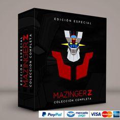 Mazinger Z · Español latino #ColeccionCompleta DVD · BluRay · Calidad garantizada. Pedidos: 0414.402.7582 Presentación #BoxSet exclusiva de RetroReto.  → http://www.RetroReto.com/
