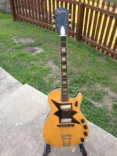 Vintage Harmony Stratotone RARE Roy Smeck Kay Silvertone Guitar | eBay