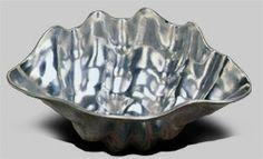 53-974 - Large Clam (6qt.) -Polished Clams, Decorative Bowls, Polish, Home Decor, Vitreous Enamel, Decoration Home, Room Decor, Seashells, Home Interior Design