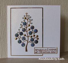Handmade by Kath: Non-evergreen Christmas Tree