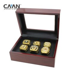 6 pcs/set Super Bowl #Pittsburgh #Steelers #replica #Championship #Ring for fa