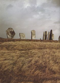 The Callanish stones, Isle of Lewis, Western Isles of Scotland