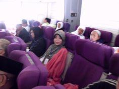 March, 2013. From Jakarta to Jeddah. Membutuhkan waktu 9 jam perjalanan dengan pesawat.. bayangkan betapa membosankan dan menegangkannya (tapi,tetep doa dan dzikir supaya selamat dan berkah)