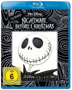 Nightmare Before Christmas Collector's Edition Blu-ray: Amazon.de: Henry Selick: DVD & Blu-ray