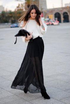 10 formas de combinar una #blusa blanca. | #Moda Mckela