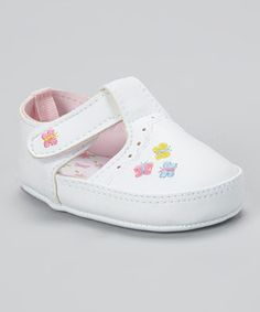 360efcceb Look at this  zulilyfind! Specialty Baby White Butterfly Mary Jane by  Specialty Baby
