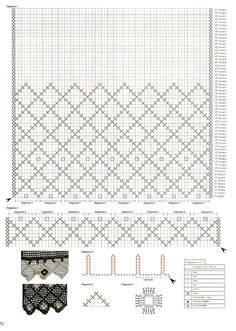 Crochet Curtain Pattern, Crochet Curtains, Curtain Patterns, Lace Curtains, Filet Crochet, Crochet Art, Crochet Doilies, Hobbies And Crafts, Diy And Crafts
