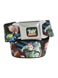OMG! I think I have fainted! Toy Story Character Seat Belt Belt