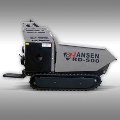 Raupendumper Jansen RD-500, hydrostatischer Antrieb! Kettendumper, Minidumper