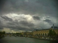 Stormy Paris Along the Seine - TheSavvyBackpacker.com