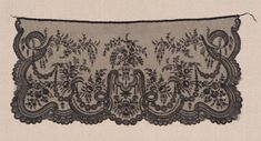 Black lace veil | Museum of Fine Arts, Boston