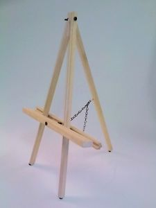 """25 pack of TABLE  EASELs Easels Max Canvas 22""""- EASELS, For Painting or Display"""