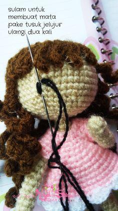 tutorial amigurumi doll ~ house of misyel shin