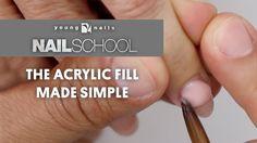 YN NAIL SCHOOL - THE ACRYLIC FILL MADE SIMPLE