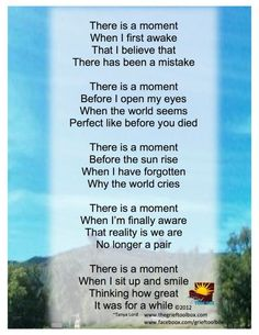 There is a Moment | The Grief Toolbox