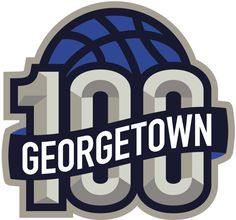 Georgetown Hoyas Anniversary Logo (2007) - 100 years of Georgetown Hoyas Basketball logo                                                                                                                                                     More