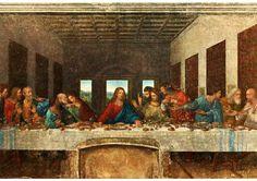 Arbeitsblatt Das letzte Abendmahl (Ausschnitt)
