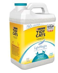 Purina Coupon: Score $1 Off Tidy Cats Lightweight Litter Score $1 off any one Purina Tidy Cats LightWeight cat litter with our purina coupon. It's always g