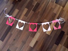 Mama Pea Pod: {Pink and Red Heart Party: Easy DIY Decorations}