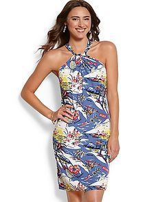 Tommy Bahama - Island Paradise Halter Dress