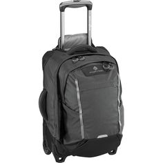 Eagle Creek Exploration Series Switchback International Carry On Trolley Bags, Rolling Bag, Rolling Backpack, Eagle Creek, Travel Backpack With Wheels, Laptop Rucksack, Backpack Reviews, Backpack Straps, Gray