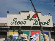 The Rose Bowl - Home of UCLA Football and the Tournament of Roses. #homeofpaulshintodds