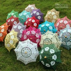 European Small Decorative Lace Parasol Umbrellas Doll s pcs/lot Lace Umbrella, Small Umbrella, Lace Parasol, Umbrella Wedding, Umbrella Decorations, Wedding Decorations, Wedding Ideas, Second Line Parade, Baby Sprinkle