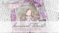 ♥ DeeDee's Card Art ♥ Tutorial Video: A Framecard