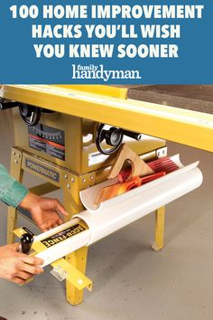 100 Home Improvement Hacks You'll Wish You Knew Sooner Building A Workbench, Workbench Plans, Pipe Insulation, Tool Sheds, Rubber Bands, Woodworking Tools, Wish, The 100, Home Improvement