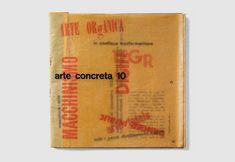 Arte Concreta 10 — Design by Bruno Munari. MAC bulletin, 1952