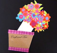 Crafts for children: greeting cards