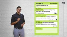 The Test Card is a practical (lean startup) tool created by Strategyzer that helps you validate your business ideas and design experiments. In this video, yo. Value Proposition Canvas, Business Model Canvas, Test Card, Service Design, Online Courses, Experience, Field Notes, Cards, Business Ideas