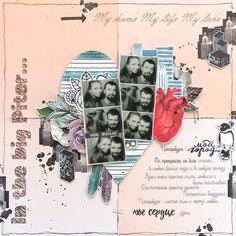 """Вдохновение от приглашенного дизайнера Анны Ситниковой - Челлендж блог """"Творить мечты"""""""