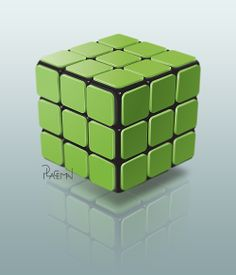Cube, corporate image Design Art, Cube, Illustration, Green, Image, Inspiration, Biblical Inspiration, Illustrations, Inspirational