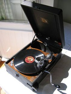 1916 Victrola Floor Model Record Player Phonograph Vv X