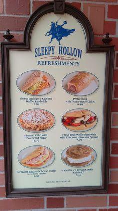 Sleepy Hollow menu snack credits magic kingdom (3)