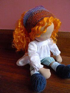 Annie - Waldorf doll